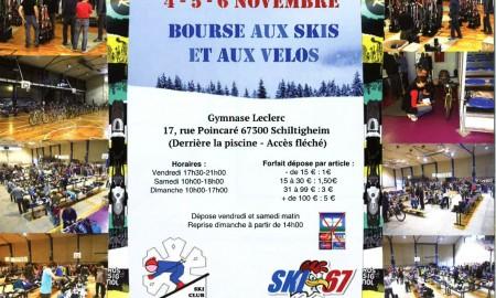 Bourse aux skis et aux vélos les 4, 5 et 6 octobre