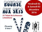 Bourse aux skis organisé par Molsheim SN le 2 et 3 Décembre 2016