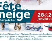 Fête de la Neige au Champ du Feu le 28 et 29 janvier