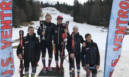 5 victoires des coureurs d'Alsace Ski Compétition Dimanche 7 Janvier 2018