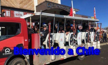 Stage au Chili – ils sont arrivés !