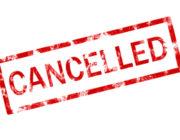 Entraînement du mercredi 20 mars annulé