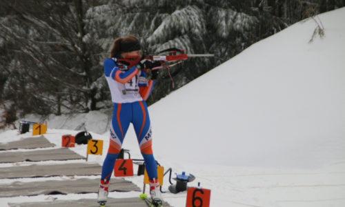 Hanna en course au Champ du Feu