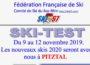 Skis tests 2019 - c'est lancé