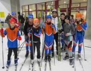 Les skieurs nordiques Bas-Rhinois à la neige