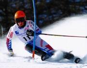 Thibaut se rappelle aux bons souvenirs des slalomeurs