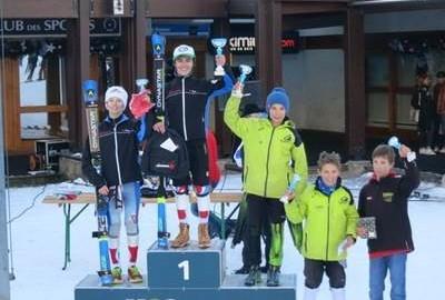 1ères victoires de la saison pour Alsace Ski Compétition