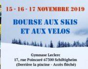 Bourse aux Skis et Vélos du 15 au 17 Novembre 2019 à Schiltigheim
