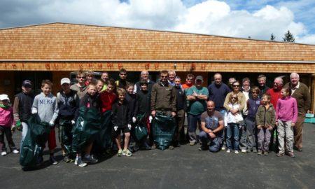 Journée de nettoyage du Champ du Feu le 27 avril 2019