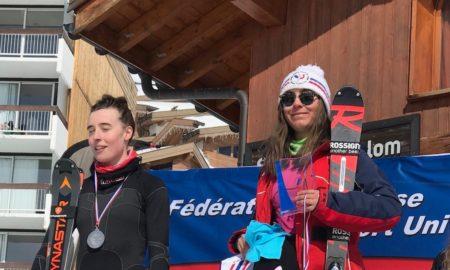 Manon Championne de France Universitaire de Slalom