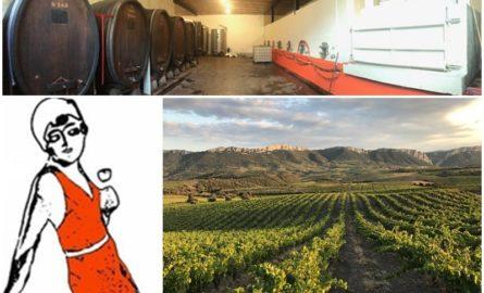Opération vente de vins natures «La Petite Baigneuse»