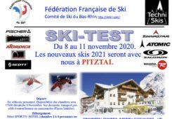 Ski-Test 2020 - Pitztal - 8 au 11 novembre