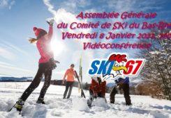 AG du CD67 SKI : Vendredi 8 Janvier 2021
