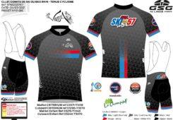 Commande de tenues de vélo (route et VTT)