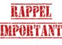 RAPPEL !! DERNIER JOUR pour les inscriptions aux stages de la Toussaint